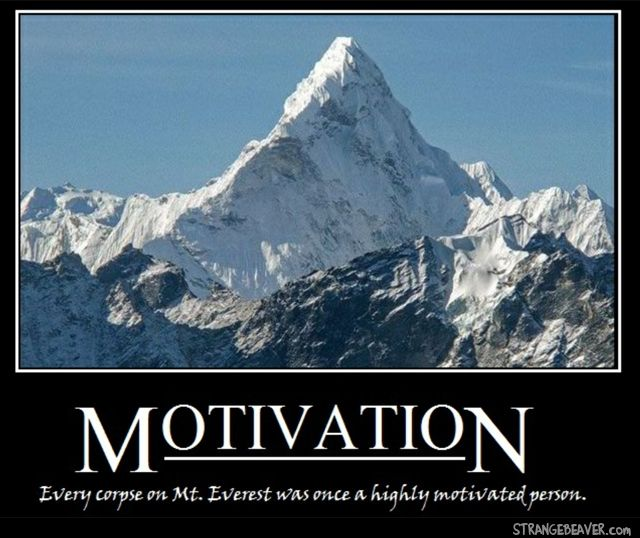 Persistence Motivational Quotes: Demotivational Posters