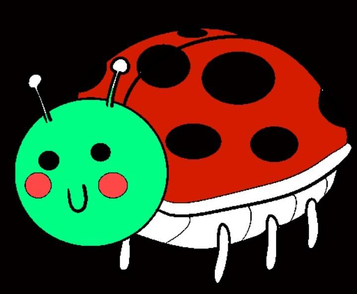 Seasick ladybug