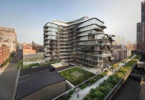 Zaha Hadid, in vendita il primo appartamento a New York