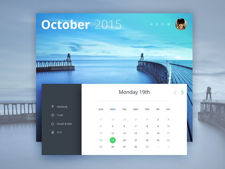 Hey guys, Here is another Calendar widget, what version do you prefer? Calendar v1 Calendar v2