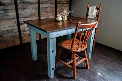 Dining Kitchen Nook Farmhouse Table Solid Wood Sugar Mtn