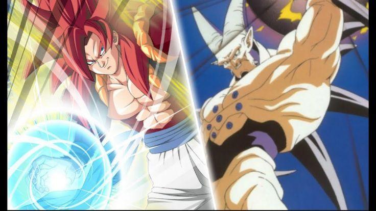 Dragon Ball Gt (AMV)  SSJ 4 Gogeta vs Omega Shenron