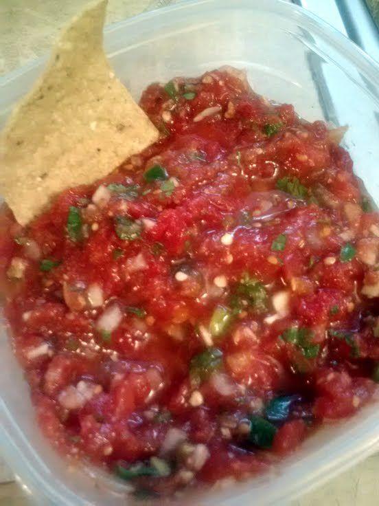 "habanero salsa! ""yummy"" @allthecooks"