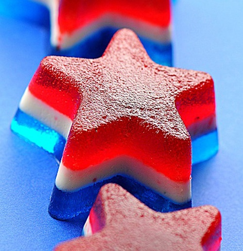 Patriotic Jelly Shots