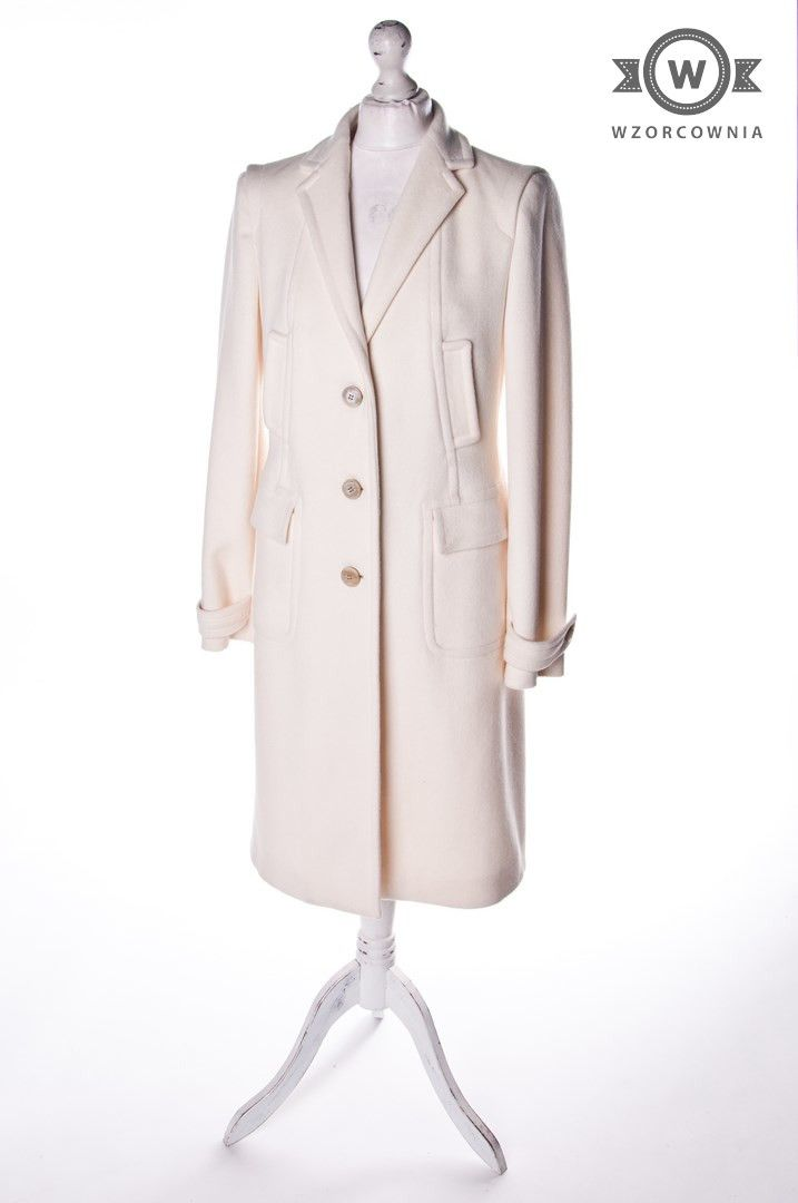 >> #Płaszcz ecru #HugoBoss #Wzorcownia online   #coat #highfashion