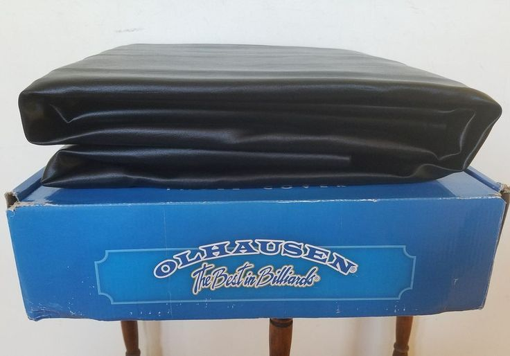 Olhausen 7 Foot Pool Table Cover Black NEW Billiards Made in USA #Olhausen