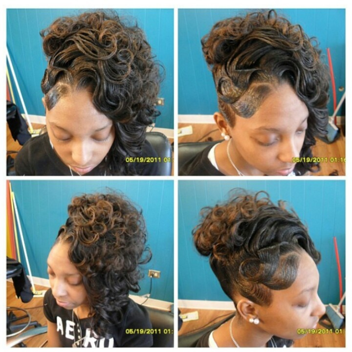 Weave Wedding Hairstyles: 17 Best Images About Flawless Hair (BUNS & UPDO'S) On