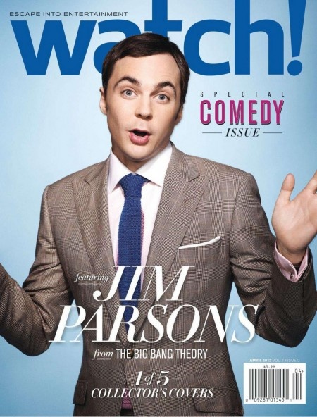 Cover of Watch Magazine CBS