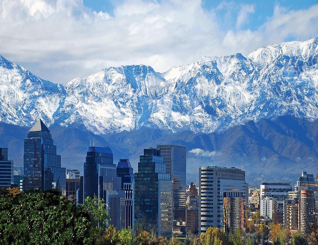 Andes Mountains - Santiago, Chile