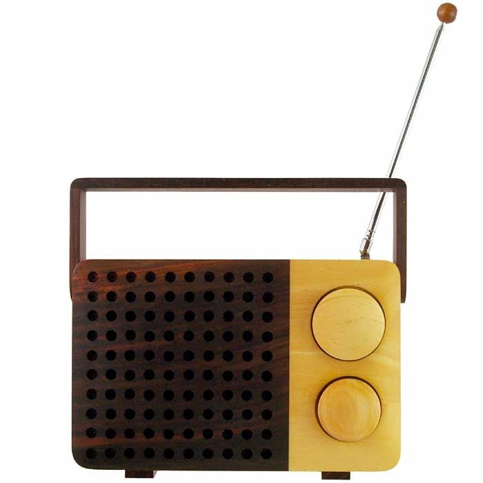 Magno Wooden Radio from A+R