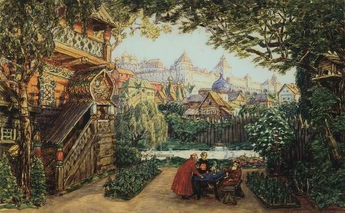 Сад князя Жемчужного, 1911