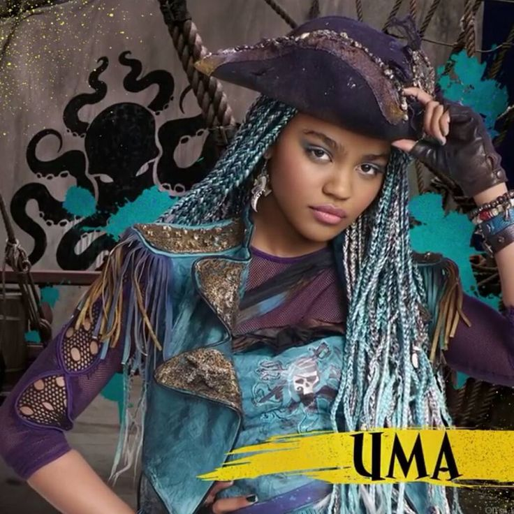 """302 Likes, 8 Comments - Moana (@uma.daughter.of.ursula) on Instagram: """"I'm loving all the sneak peaks of descendants 2 #uma #descendants #descendants2 #disney…"""""""