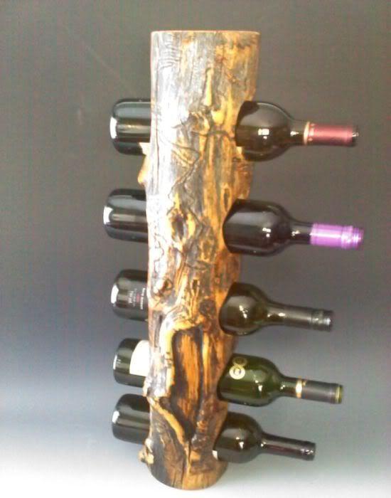 Ideas decorativas y tles para hacer con troncos de madera - Muebles con troncos ...