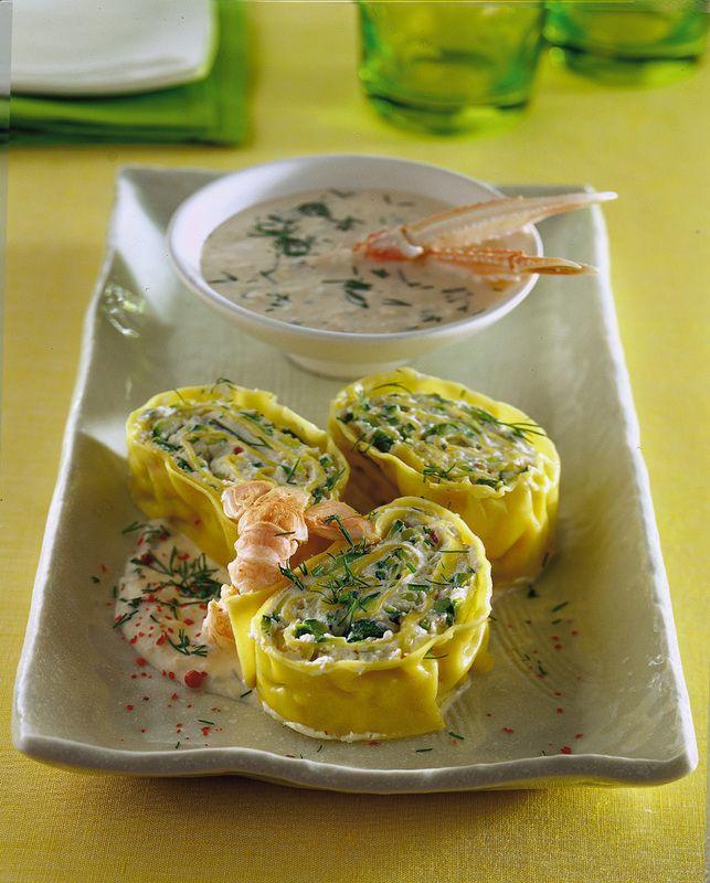 Rotolo di pasta alle zucchine