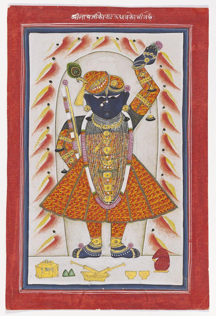 Sri Nathji dress for Pat festival