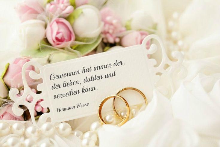 Herman Hesse Hochzeitsglückwünsche - kurz und nicht kitschig