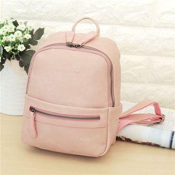 Stylish PU Leather Backpack Shoulder Bag School Bags Shoulder Bag For Women Online - NewChic Mobile.