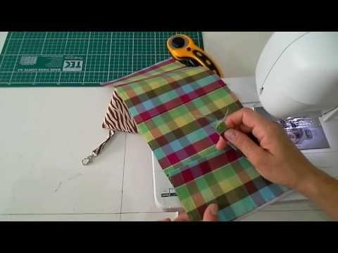 Carteira 2 costuras PAP - YouTube