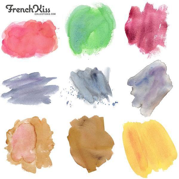 Watercolor Spot Textures 1 Watercolor Texture Artwork