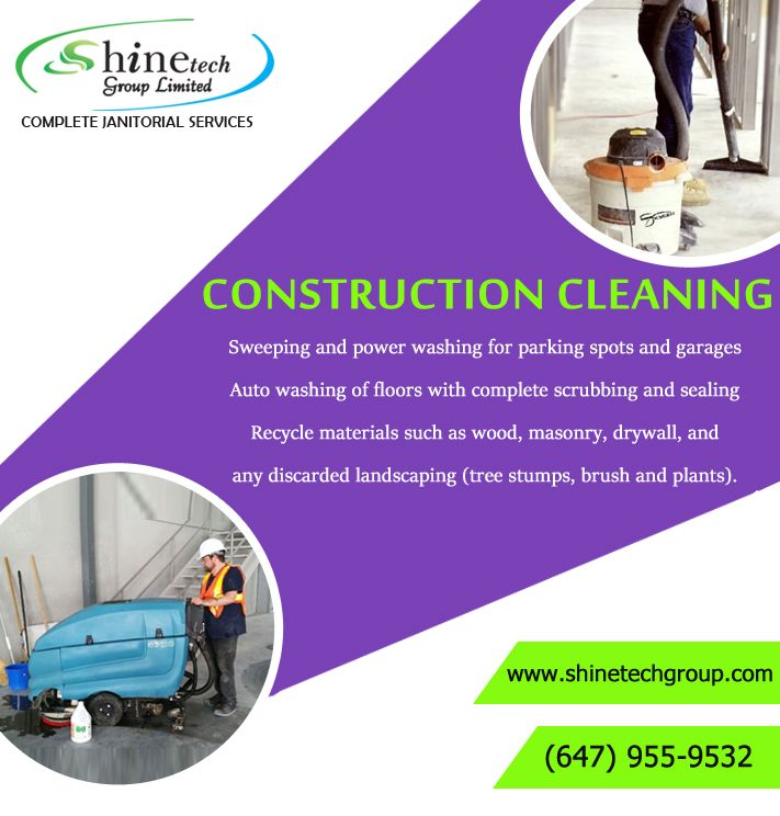 #Construction_Cleaning_Services_Toronto   You can expect to see all waste materials removed and the #floors, walls, and #windows of each #room to be deep-cleaned.