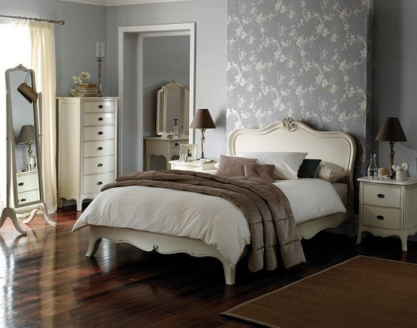 I Like The Wallpaper Panel Behind The Bed, Itu0027ll Save The Search For ·  Painted Bedroom FurnitureBedroom ...