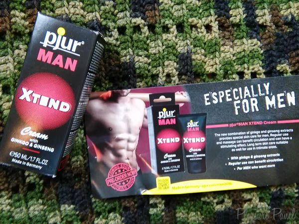New review of the Pjur Man Xtend Cream, by the Cara Sutra Pleasure Panel