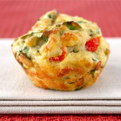 Spinach and cheese polenta muffins - Fernwood Women's Gyms Australia
