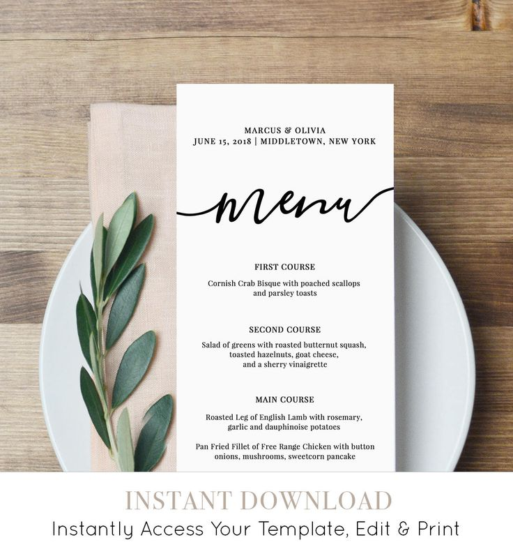 Best 25+ Menu card template ideas on Pinterest Restaurant menu - cafe menu templates free download