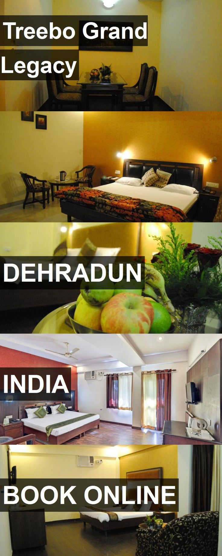 Hotel Treebo Grand Legacy in Dehradun, India. For more information, photos, reviews and best prices please follow the link. #India #Dehradun #TreeboGrandLegacy #hotel #travel #vacation