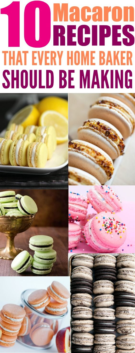 I love macaron cookies! For the longest time I was so scared to make these cookies. I don't know why I freaked out about it because they are so easy to make! They taste awesome! I love this so much for all the different fun and flavorful macaron cookie re (party desserts brownies)