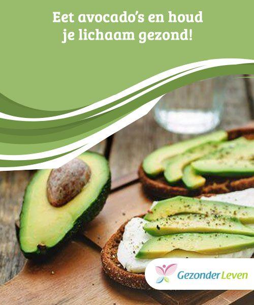 Eet avocado's en houd je lichaam #gezond!  #Avocado's hebben een heilzaam effect in het lichaam, maar ook voor je uiterlijk. Avocado kan de #vertering helpen, de botten versterken, de #gezondheid van het spijsverteringsstelsel verbeteren en zelfs de huid verzorgen.