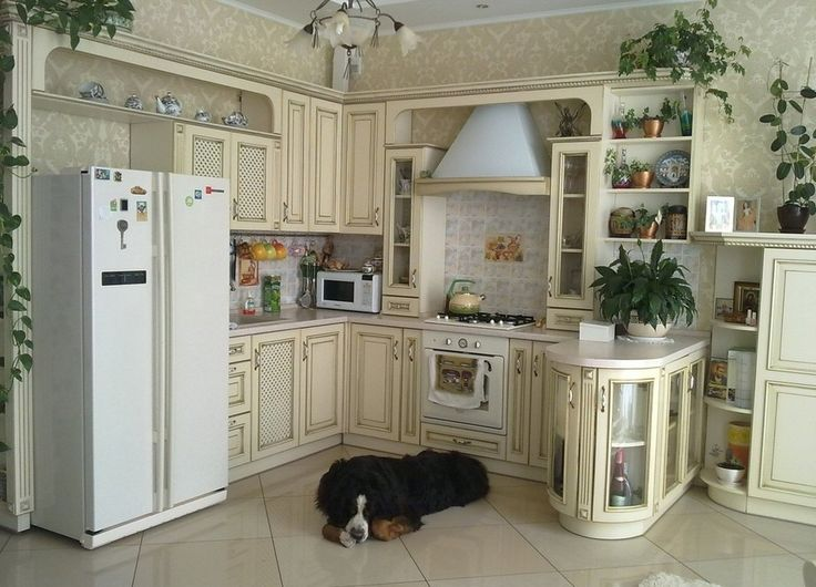 Кухни в стиле прованс - это не обязательно большие, громоздкие и с островом