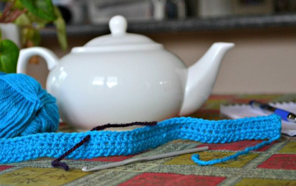 Crochet tea cosy free pattern