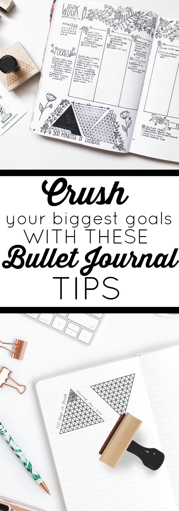 How to Set and Crush Your Biggest Goals in Your Bullet Journal