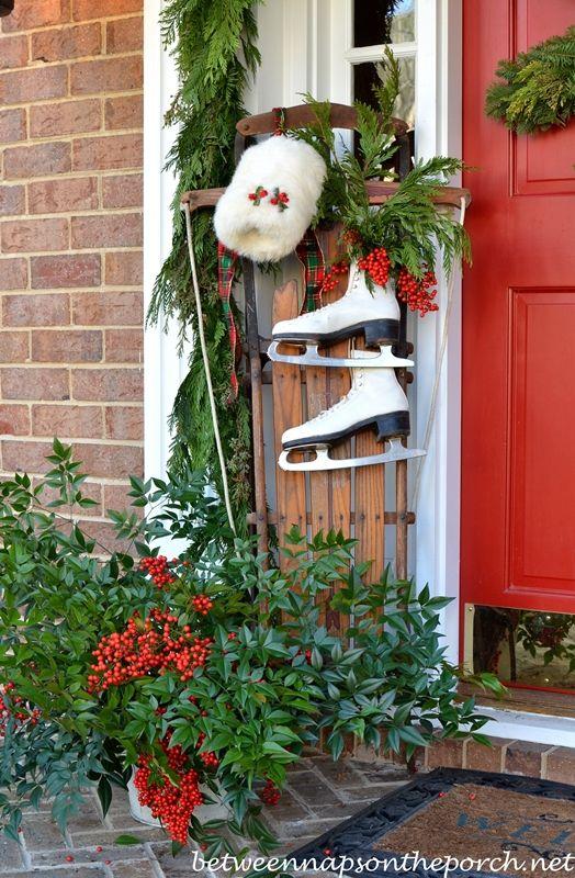 199 Best Christmas Outside Images On Pinterest Celebrations