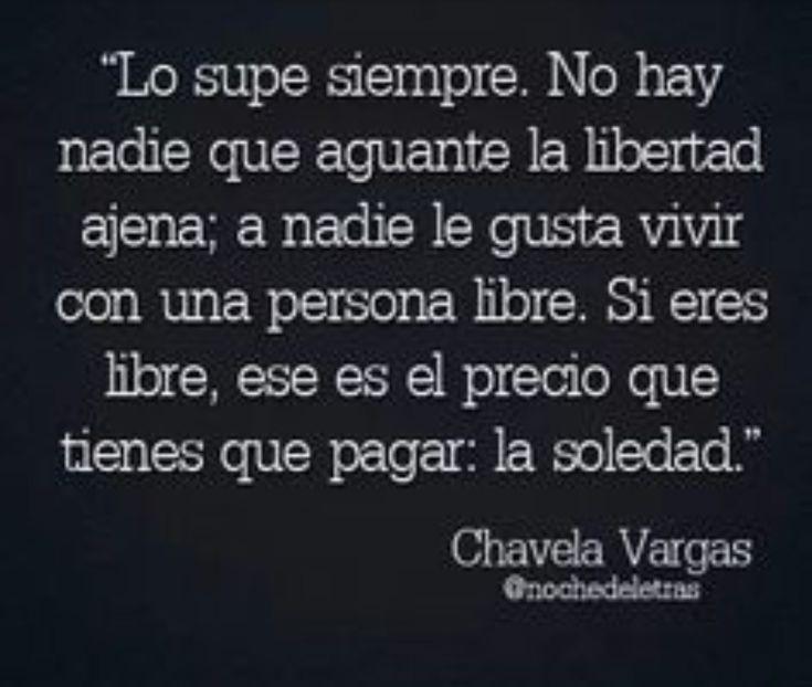 Y soy libre