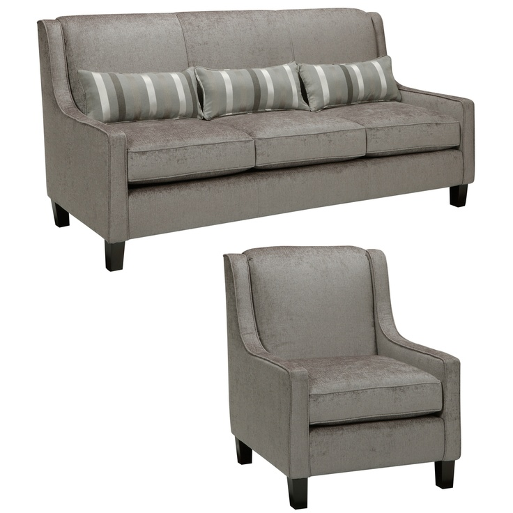 $1994! dream list...Ramone Silver Sofa and Chair | Overstock.com