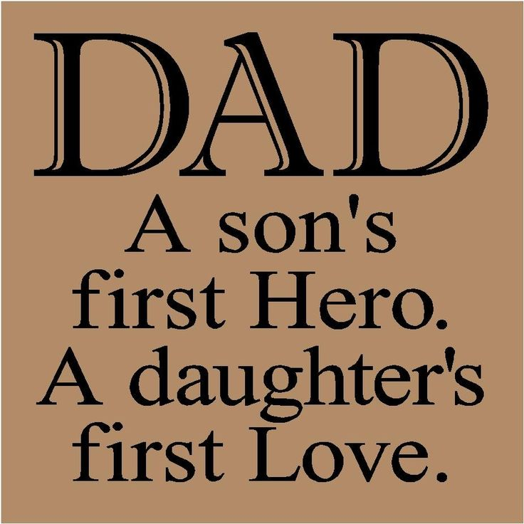 Happy Fathers Day Quotes my first love is my daddy | Best Quotes » Best Quotes for Daughter