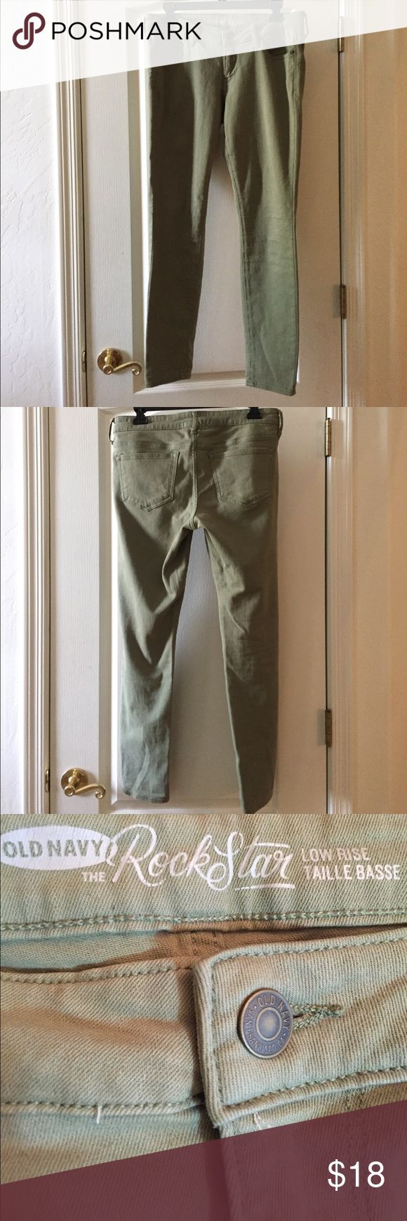 Selling this Old Navy Rockstar Jeans on Poshmark! My username is: jessfenzel. #shopmycloset #poshmark #fashion #shopping #style #forsale #Old Navy #Denim
