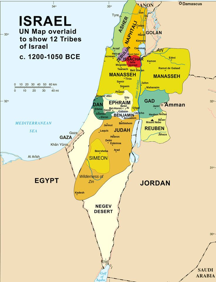 map of modern day israel - Google Search | Bible maps ...