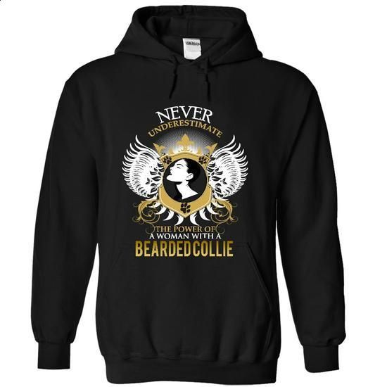 BEARDED COLLIE - #kids #teespring. GET YOURS => https://www.sunfrog.com/Pets/BEARDED-COLLIE-3625-Black-15363389-Hoodie.html?60505