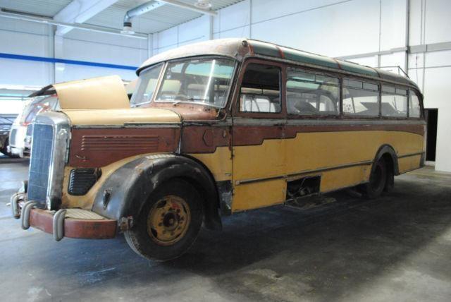 Mercedes-Benz O 3500 Oldtimer / Scheunenfahrzeug, Bus Autocar à Untersteinach, occasion achetez sur AutoScout24 Trucks