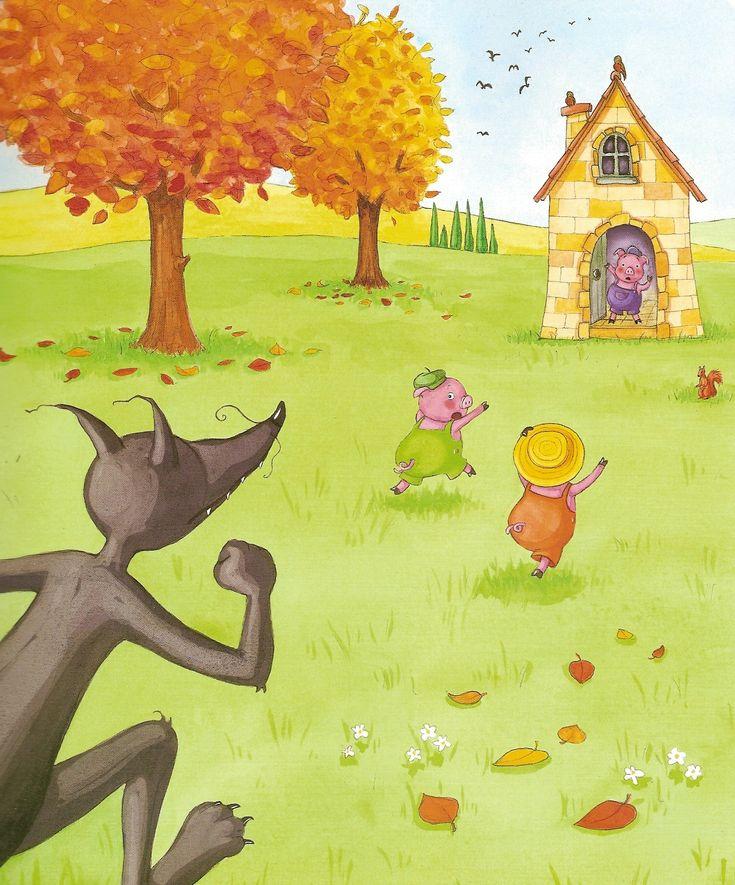 194 best les trois petits cochons images on pinterest petits cochons contes et maternelle - Dessin anime les 3 petit cochons ...