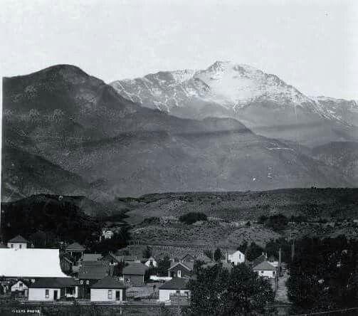 Pikes Peak In Colorado Springs: 250 Best Historic Photos Of Colorado Springs Images On