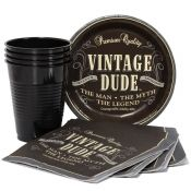Vintage Dude Munch Pack for 8