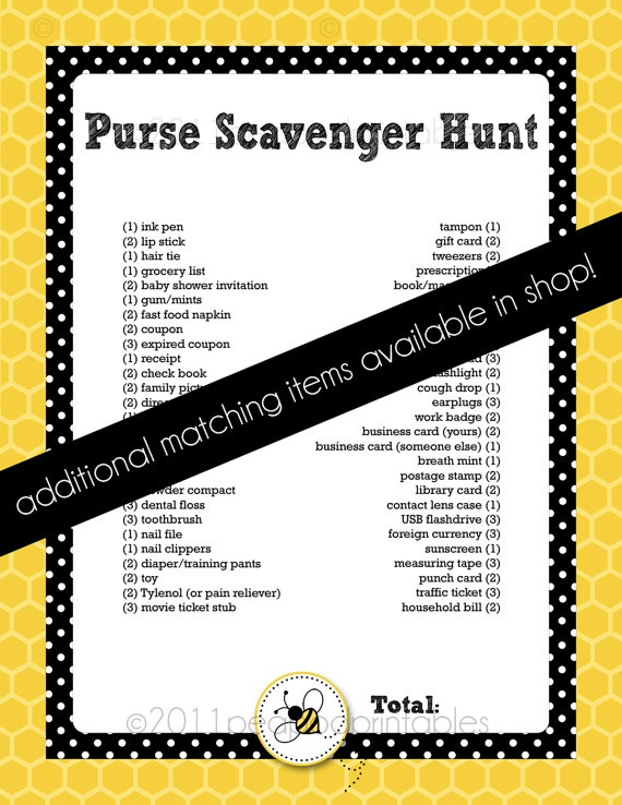 baby shower scavenger hunt e junkie party invitations ideas memes