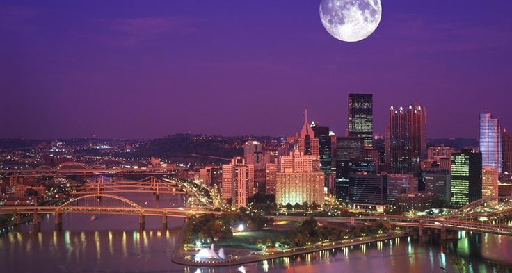 Bing Image Archive: Skyline of Pittsburgh, Pennsylvania -- Kordcom Kordcom/Age Fotostock/Photolibrary(Bing United States)