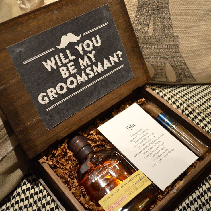 17 Best Ideas About Ask Groomsmen On Pinterest