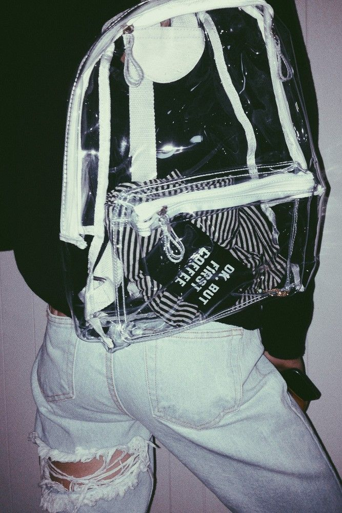 Brandy ♥ Melville | Clear Backpack - Bags - Accessories