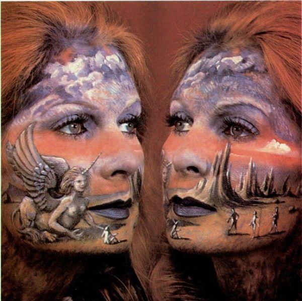 Image de peinture sur visage peinture sur corps pinterest - Peinture sur visage ...